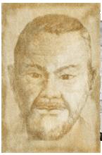 Portrait de Itosu-Anko