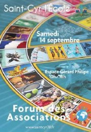 Forum Saint-Cyr L'École 2013-2014